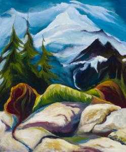 Ria Harboe-Painting